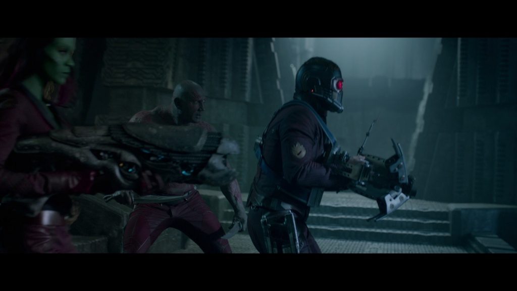 Guardians of the Galaxy 3d environment modelling, look dev and lighting