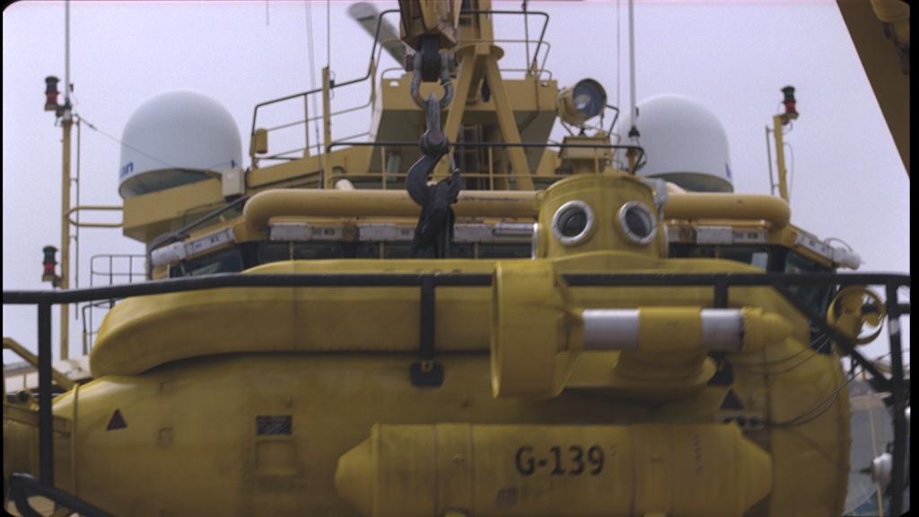 Atlantis CG submarine look dev and lighting