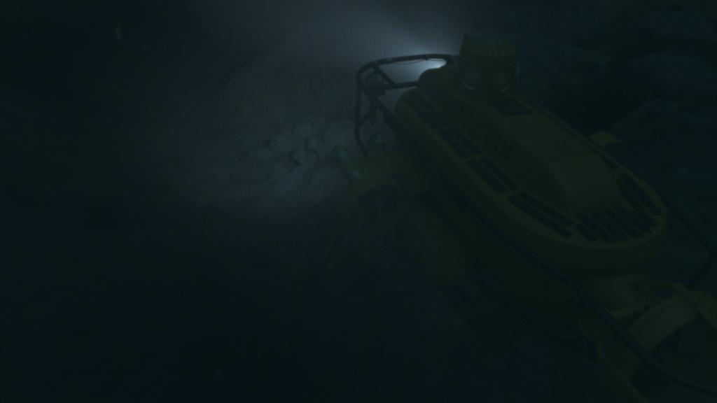 Atlantis CG submarine and environment look dev and lighting