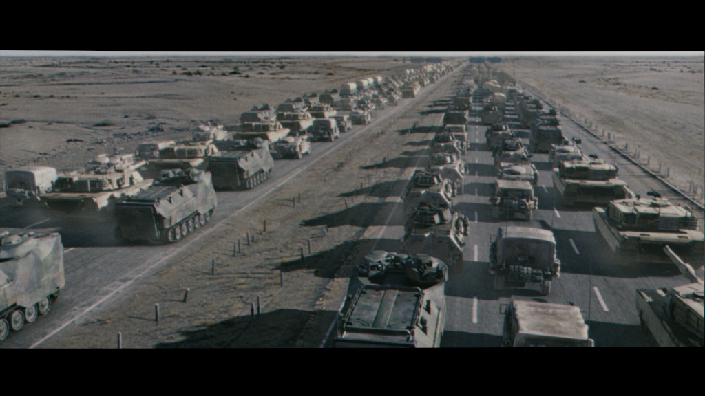 Generation Kill convoy animation and enviroment lighting